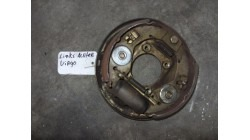 Anchor plate with brake shoes left behind Aixam Mega