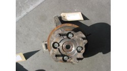 Brake disc with hub (without swivel) links for Microcar Virgo