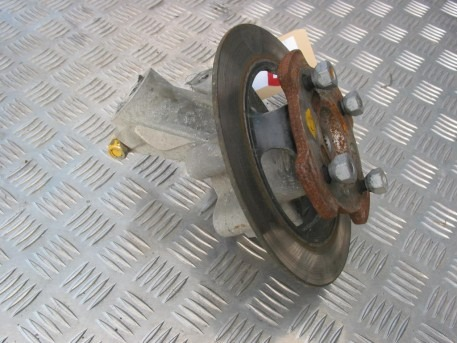 Steering knuckle with brake disc left Microcar MGO