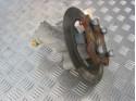 Steering knuckle with brake disc left Microcar & Ligier Due