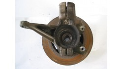 Steering knuckle with brake disc left Microcar & Ligier Due