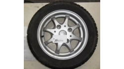 Rim ( Aluminum) with tire JDM Abaca