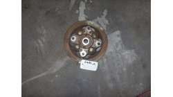 Brake disc with wheel hub L & R Aixam Crossline / City