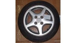 Rim ( Aluminum) with tire JDM Albizia