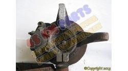 Achsschenkel mit Bremsscheibe rechts JDM Titane
