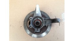 Steering knuckle with brake disc right JDM Titane