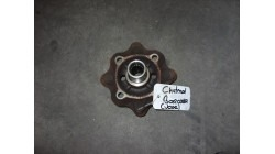 Brake disc with wheel hub L & R JDM Titane