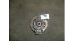 Steering knuckle with brake rotor front right Chatenet Media