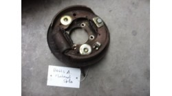 Anchor plate with brake shoes rear, right Chatenet Media