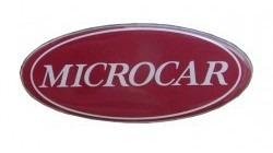 Embleem Microcar MC logo motorkap / achterklep