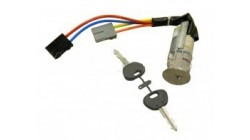 Ignition switch + door locks Aixam (including 2 keys)