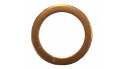 Koperring 10 mm Durchmesser banjobout
