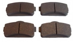 Brake pad set Aixam 2010