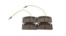 Brake pad set Microcar MC1 and MC2
