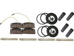 Microcar Virgo, MC1 en MC2 voorwiel remmen revisie set compleet