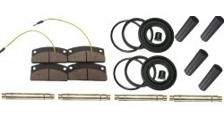 Chatenet Barooder and CH 26 V1 front wheel brake overhaul kit is complete