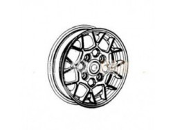 "Alloy wheel 13"" Aixam"