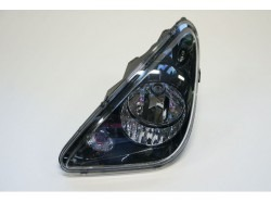 Headlight black left Aixam 2010