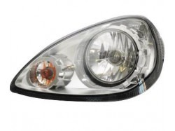Headlight imitation links Microcar MGO Brommobiel