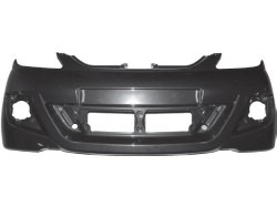 Front bumper Aixam City and Crossline (from 2010 ), ABS imitation