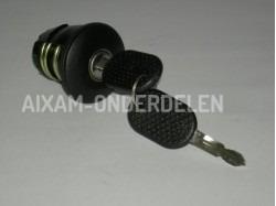 Fuel tank cap + lock Aixam