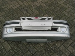 Front bumper silver (damaged) Microcar Virgo 3