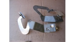 Hinge set, bonnet, Microcar / Ligier Due