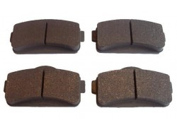 Brake pad set, Microcar MGO, M8 and Ligier IXO front