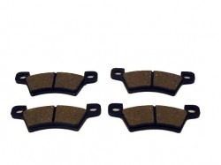 Brake pad set rear Microcar MC1 and MC2