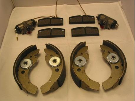 Microcar Virgo 1 & 2 rempakket complete
