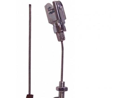 The throttle cable Grecav EKE (length: 72 cm)