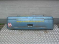 Stoßstange hinten JDM Titane blau