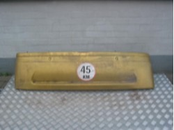 Rear bumper JDM Titane yellow used