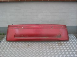 Rear bumper JDM Titane red used