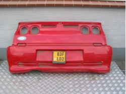 Rear Bumper Microcar Newstreet