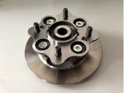 JDM Titane for brake disc with wheel hub