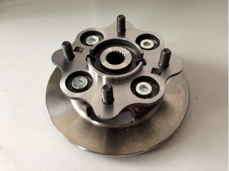 JDM Titane for brake disc with wheel hub