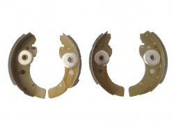Brake shoes set rear brommobiel
