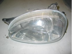 Headlight left Microcar Virgo 1 & 2