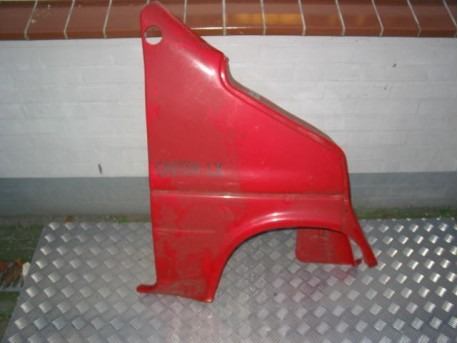 Front wing right red Canta LX