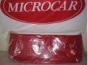 Motordeksel rood Microcar Newstreet