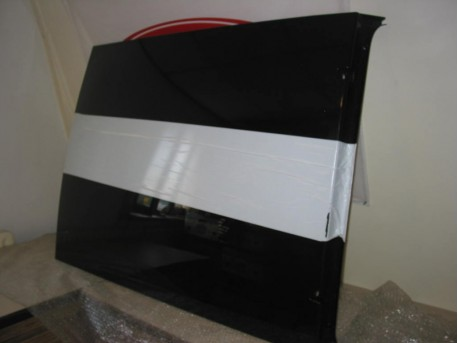 Overzetdak zwart Microcar MC2
