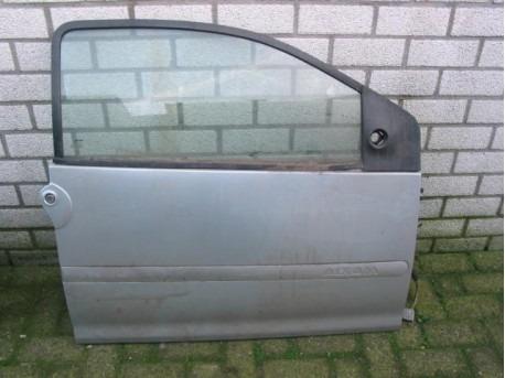Door right silver Aixam 1997-2004