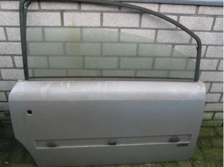Door right silver Microcar MC1 / MC2