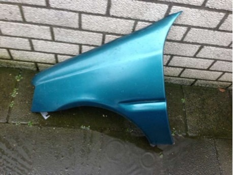 Front wing left-Aixam 540 blue