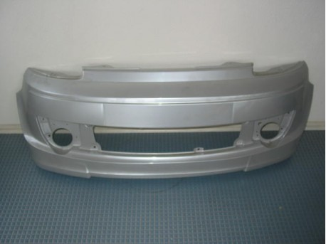 Front bumper silver Microcar MGO