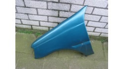 Front wing left blue Aixam 540