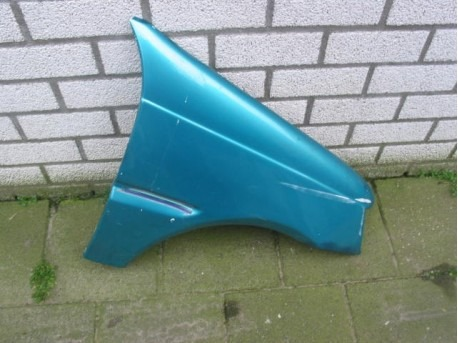Front wing right blue Aixam 540