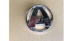 Logo Aixam motorkap en achterklep Chroom 2008-2013
