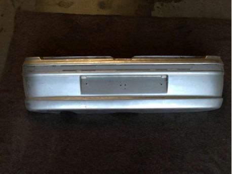 Rear bumper Microcar Virgo 2 silver